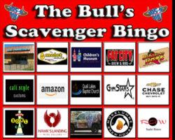 The Bulls Scavenger Bingo Is On!