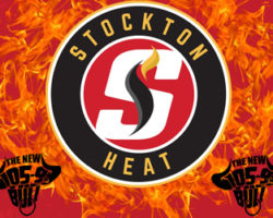 Watch The Stockton Heat Take To The Ice!