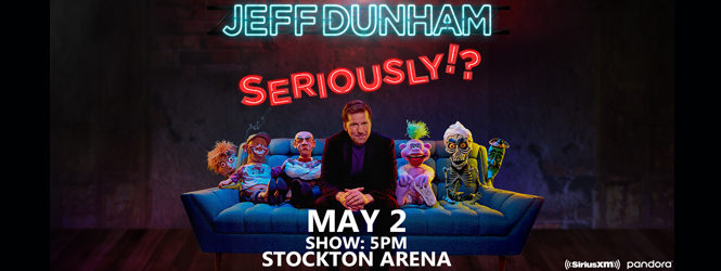 Jeff Dunham is coming to Stockton!