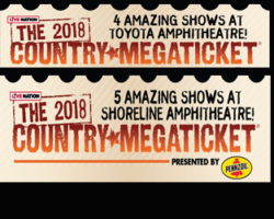 The 2018 Country Megaticket Is On Sale Now!