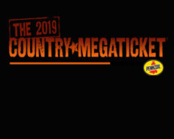2019 Country Megaticket is on sale now!