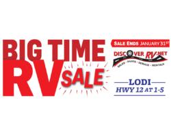 Discover RV's Big Time RV Sale