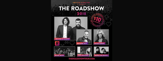 The Roadshow Tour Makes Its Way To Stockton March 2nd.
