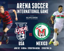 U.S.A vs. Mexico ~ Arena Soccer ~ June 2nd