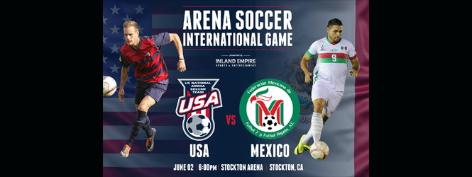 U.S.A vs. Mexico ~ Arena Soccer ~ June 2nd