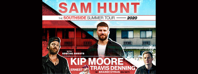 Sam Hunt is coming to Nor-Cal!