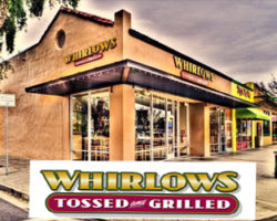 "Win From ""Whirlow's Tossed and Grilled"""