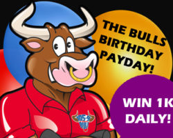 The Bull's Birthday Payday!