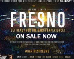 Garth Brooks World Tour In Fresno