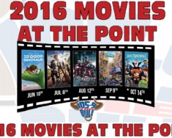 Movies at The Point With The New Bull