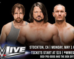 The WWE Live Is Back In Stockton